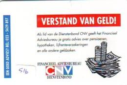 NEDERLAND CHIP TELEFOONKAART CRE 516 * CNV  * Telecarte A PUCE PAYS-BAS * ONGEBRUIKT MINT - Niederlande