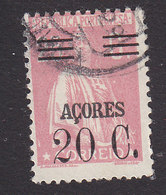 Azores, Scott #305, Used, Ceres Surcharged, Issued 1929 - Açores