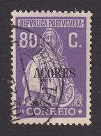 Azores, Scott #312, Used, Ceres Overprinted, Issued 1930 - Azoren