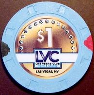 $1 Casino Chip. Las Vegas Club, Las Vegas, NV. E45. - Casino
