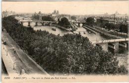 3TKS 1O27 CPA - PARIS - VUE VERS LA POINTE DU VERT GALANT - France