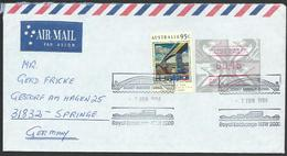 AUSTRALIA 1994 Airmail Cover To Germany - Nice Franking - ............14716 - 1990-99 Elizabeth II