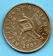 (r65)  GUATEMALA  50 Centavos 2001 - Guatemala