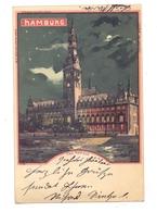 2000 HAMBURG, Das Rathaus, 1901, Halt Gegen Das Licht / Hold To Light, LUNA - Mitte
