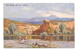 JORDAN - Das Heilige Bad Am Jordan, Künstler-Karte, Theo Stroefer Nürnberg - Jordanien