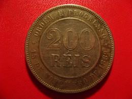 Brésil - 200 Reis 1889 8499 - Brasil