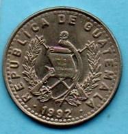 (r65)  GUATEMALA  10 Centavos 1992 Km#277;5 - Guatemala