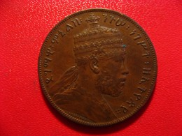 Ethiopie - 1/100 Birr (Matonya) 1889 - Superbe 8551 - Ethiopia