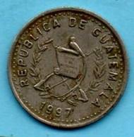 (r65)  GUATEMALA  10 Centavos 1997 Km#277;7 - Guatemala