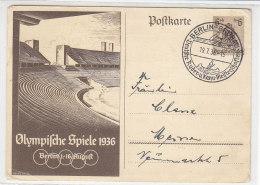 P 259 Aus BERLIN-GRUNAU Deutsches Ruderer U. Kanu Meisterschaft 19.7.36 - Briefe U. Dokumente
