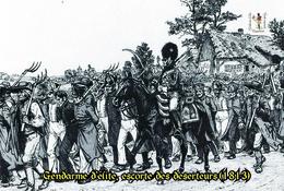 Carte Postale, Militaria, Napoleon, Uniformes De La Grande Armée, Gendarme D'elite, 1813 - Uniformen