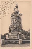 18 / 7 / 3  - VINCENNES  ( 94 )  -  LE  MONUMENT  AUX  MORTS - Vincennes