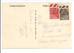 Expo Colonial Fachi Yv 271+272 +BORDS. CPE Arras>Praha CSSR - Poststempel (Briefe)