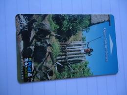 FIJI USED CARDS CULTURE - Fiji