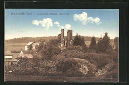 AK Jünkerath / Eifel, Burgruine Schloss Jünkerath - Duitsland