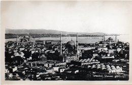 TURCHIA-ISTAMBUL-UMUMI GORUNUSU-REAL PHOTO-NON VIAGGIATA - Turchia