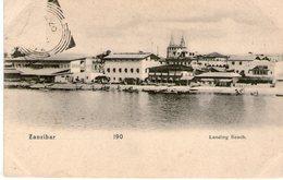 (68) CPA  Zanzibar  Landing Beach  (Bon Etat) - Tanzanie