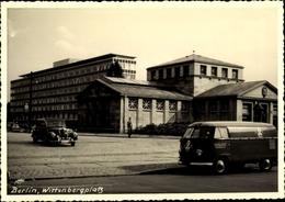 Photo Cp Berlin Schöneberg, Wittenbergplatz, Bahnhof, VW T1 Bulli, Electrola GmbH - Altri
