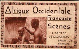 (68) CPA  Carnet 12 Cartes Afrique Occidentale Francaise   (Bon Etat) - Guinea