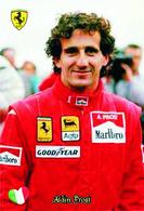 Carte Postale, Sport, Automobilisme, F1 Drivers All Time, Alain Prost (France), Ferrari Team - Grand Prix / F1