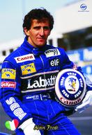Carte Postale, Sport, Automobilisme, F1 Drivers All Time, Alain Prost (France), Williams Team - Grand Prix / F1