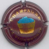 CAPSULE-CHAMPAGNE VIGNERONNE LA N°05 Moyen Marron - Vigneronne, La