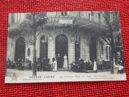 """BRUXELLES  - SAINT-GILLES  -  """" Taverne Lucien """", 39, Avenue Paul De Jaer - Cafés, Hotels, Restaurants"""