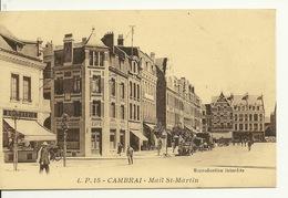59 - CAMBRAI / MAIL SAINT MARTIN (L.P. 15) - Cambrai