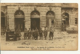 59 - CAMBRAI / LA FACADE DE LA MAIRIE - Cambrai