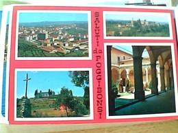 POGGIBONSI  SALUTI E VEDUTE  - SIENA  VB1969 GT1997 - Siena
