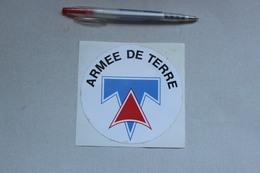 ARMEE DE TERRE   1 AUTOCOLLANT - Autocollants