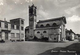 SOMMO - PIAZZA MUNICIPIO - PAVIA - NON VIAGGIATA - Pavia