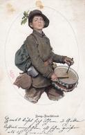 AK - WKI - Jung Deutschland - Rot Kreuz Karte - Signiert Simm 1915 - Rotes Kreuz