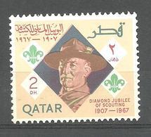 QATAR STAMP MNH SCOUT - Qatar