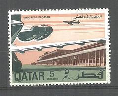 QATAR STAMP MNH AIRPLANE - Qatar