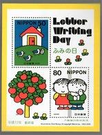 Nippon 2000 Dick Bruna Letter Writing Day Sheet - Blocks & Sheetlets