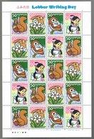 Nippon Letter Writing Day 2005 The Adventures Of Shochan (Katsuichi Kabashima & Nobutsune Oda) - Blocks & Sheetlets