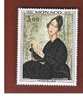 MONACO   -  SG 1004  -  1970 PAINTING OF MODIGLIANI  - MINT** - Neufs