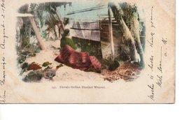 ETATS UNIS NAVAJOS NAVAJO TRIBU METIER TISSERAND INDIEN INDIENS APACHES - Etats-Unis