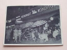 Restaurant LIDO Copenhagen () Anno 1955 ( Zie Foto Voor Details ) !! - Danemark