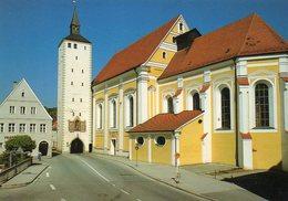 BRD- BY: 87 719  Mindelheim, Jesuitenkirche, Unteres Tor - Deutschland