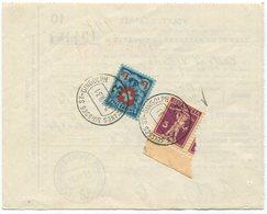 1917 - 1.50 Fr. Wappenschild Auf Automobil- Einfuhrschein Mit Zollstempel Von ST. GINGOLPH - Schweiz