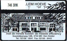 Telefoonkaart  LANDIS&GYR  NEDERLAND * RCZ.746   301k * ERNST SILLEM HOEVE * TK * ONGEBRUIKT * MINT - Nederland