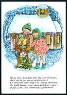 B5064 - Ursula Walch Glückwunschkarte - Weihnachten - Kinder - Max Müller DDR - Weihnachten