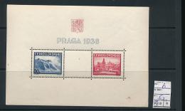 TCHECOSLOVAQUIE CZECHOSLOVAKIA  MS YVERT 6 MNH - Blocks & Sheetlets