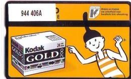 Telefoonkaart  LANDIS&GYR NEDERLAND *  RCZ.944   406a * KODAK GOLD  * TK * ONGEBRUIKT * MINT - Nederland