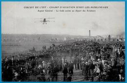 CPA AK CIRCUIT De L'EST Champ D' Aviation D'ISSY-les-MOULINEAUX 92 - Aspect Général - La Foule...Avion Avions Aérodrome - ....-1914: Precursors