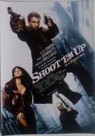 Folleto De Mano. Película Shoot'Em Up. Clive Owen. Monica Bellucci. Paul Giamatti - Merchandising