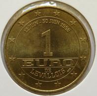 0122 - 1 EURO - LEVALLOIS - 1998 - Euros Of The Cities