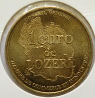 0125 - 1 EURO - LOZERE - 1998 - Euros Of The Cities